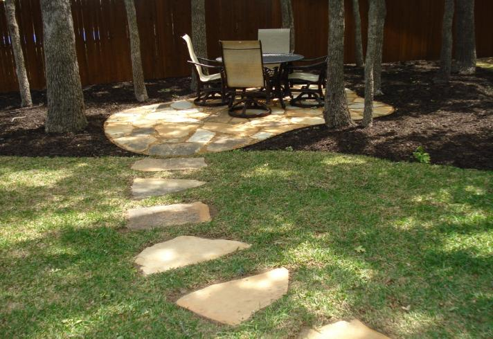 Allscapes inc irrigation sprinklers landscape Flagstone patios colleyville tx
